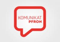 komunikat PFRON
